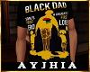 """a"""" Black Dad T Blk"""
