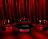 Red Anim.Aquarium Chairs