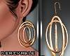 T. Hoops Earrings