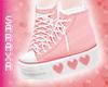 S   V Heart Sneakers