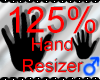 *M* Hand Scaler 125%