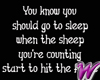 Counting Sheep -stkr
