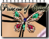 !PoE! Butterfly Necklace