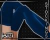 +KM+ Gym Stockings Blue2