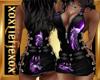 [L] WOLF Purple Dress