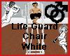 Life Guard Chair White