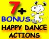 7 happy dances + BONUS