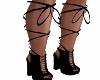 Hi-Tyed Black Boots