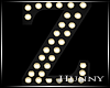 H. Marquee Letter Z