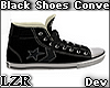 Black Shoes Convers