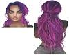 Pink/Purple Tied Hair