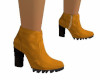 Suede Mustard boots