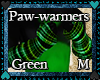 Green Paw warmers *M*