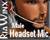 Headset Mic Male Version