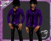 down town shirt purple