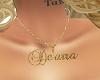 Custom Name Chain De'arr