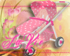 Pink stroller animated