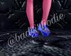 +$ bandgirl blue crocs