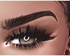 ☾ Eyebrows .Black