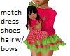Kids Pink Green RL doll