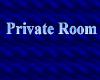 {CB} Private Room Sign