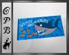 Shark Beach Towel w/pose