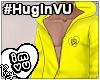 #HugInVU Hood - Yellow