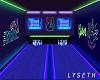 -L- Neon Bowling