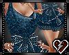 S Blue princess dress