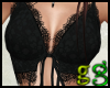*G Black Lace Halter