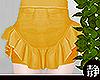 ☁ Frill Skirt l Orange