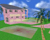 60's pink brick