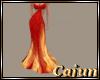 Fire Elemental Gown