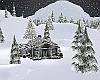 Snowy Christmas Home