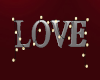Love Sign with Lights