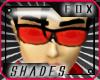 [F] Red Eye Glasses