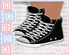 . Black Lace Up Shoes