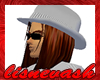 Gray Mafia Hitman Hat