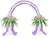 White Purple Wedding Arc