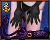 Female Black Hand Claws