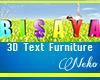 N! BISAYA 3D Text