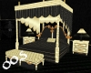 Black N Gold Canopy Bed