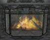 V2 Fireplace screen