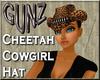 @ Cheetah Cowboy Hat