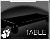 WS ~ Black Floor Table