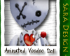 (S) Animated Voodoo Doll
