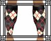 [m] Argyle Socks RED