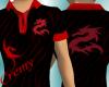 ¤C¤Dragon Polo Red/Black