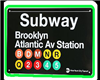 Animated Subway Bar
