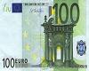 100 Euro ¬ bill  Floor